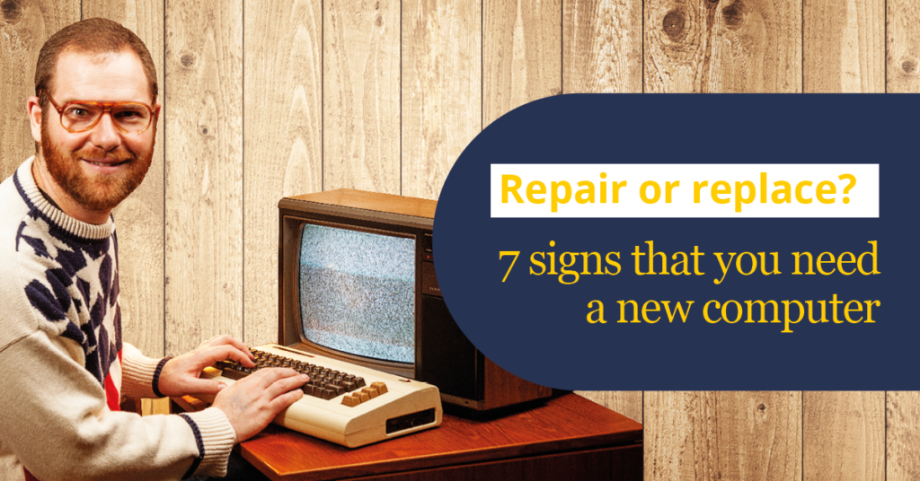 Should you replace or repair your computer
